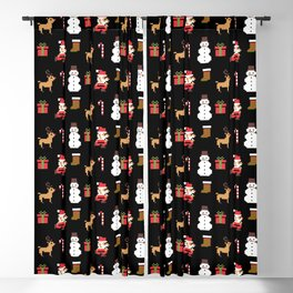MERRY CHRISTMAS VIDEO GAME Blackout Curtain