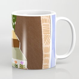 Orange Tree Blue Sky Coffee Mug