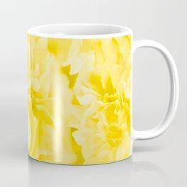 Yellow Peony Petals in Close-up #decor #society6 #buyart Coffee Mug