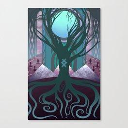 Yggdrasil - Hellheim Canvas Print