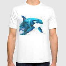 Orca  MEDIUM Mens Fitted Tee White