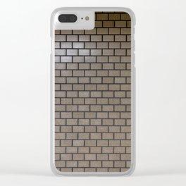 Harajuku Station wall Clear iPhone Case