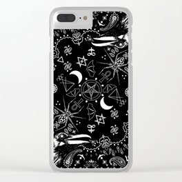 Batscraft: Crows Bandana Clear iPhone Case