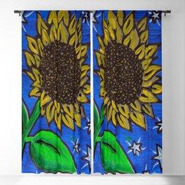 Boo's Sunflower Blackout Curtain