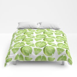 Juicy Lime with vitamin C Comforters