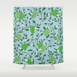 Key Limes Shower Curtain