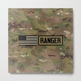 Ranger (Camo) Metal Print