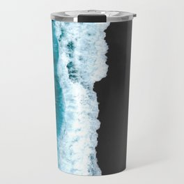 Black Sand Beach Travel Mug