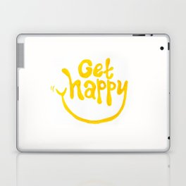 Get Happy! Laptop & iPad Skin