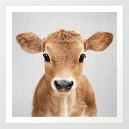 Calf - Colorful Art Print