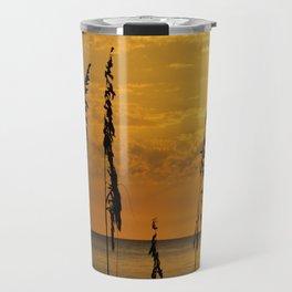 Golden Sea Oats Travel Mug