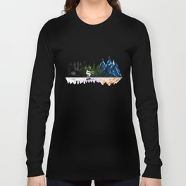 Go to The Mountains Long Sleeve T-shirt