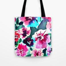 Zoe Floral Pink Tote Bag