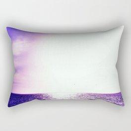 Purple Escape Rectangular Pillow