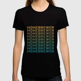 Homebrewer (70's Repeat) T-shirt