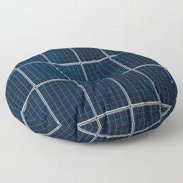 Solar Panel Pattern (Color) Floor Pillow