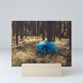 Rubbish in plastic bag Mini Art Print