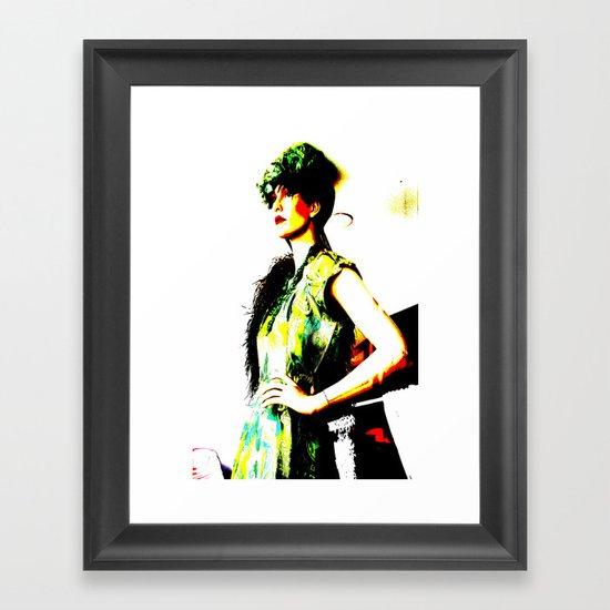 Vintage: Bea Framed Art Print