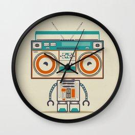 Music robot Wall Clock