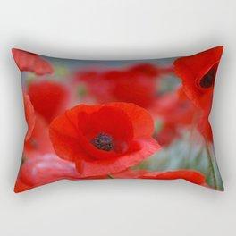poppy addiction Rectangular Pillow