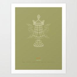 Dhvaja – Victory Banner Art Print