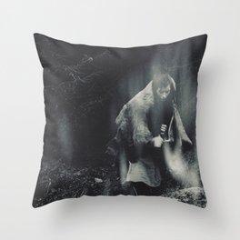 The Shamans Dance Throw Pillow