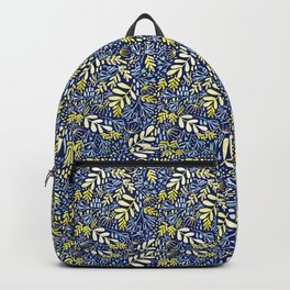 Garden at Dusk - Hand painted pattern Backpack