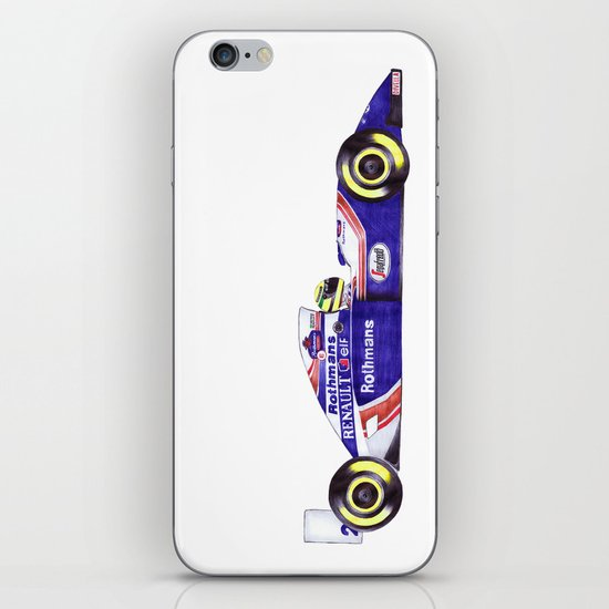 Senna iPhone & iPod Skin