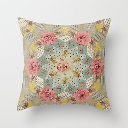 Tessellations Quilt Throw Pillow