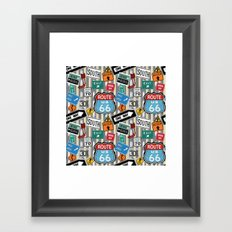 Hit The Road Framed Art Print