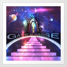 Gate of the Universe Art Print