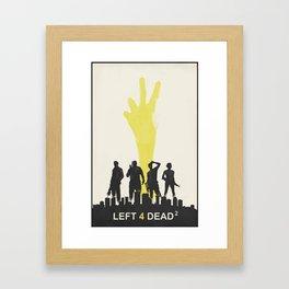 Left 4 Dead 2 Framed Art Print