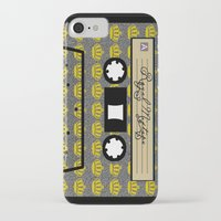 tape iPhone & iPod Cases featuring tape by Jeffrey Bourgeois