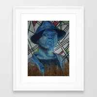 j dilla Framed Art Prints featuring J Dilla. by Roosterface