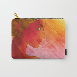 Independent Woman Sunset Carry-All Pouch