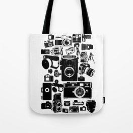 Cameras Tote Bag
