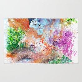 Magical Landscape Art Illustration Rug