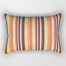 Happy Vertical LInes Rectangular Pillow