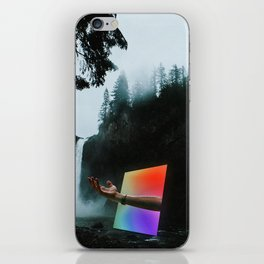 Portal into the Woods iPhone Skin