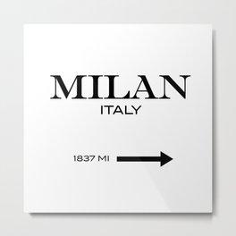 Milan - Italy Metal Print