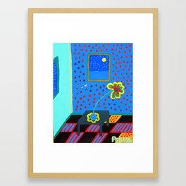 One Daisy Framed Art Print