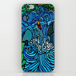 PADDLE THE PLUNGE iPhone Skin