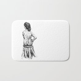 Strength in Thoughts Bath Mat