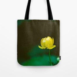 Yellow Flower Bud Tote Bag