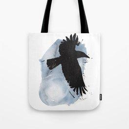 Raven Moon Tote Bag