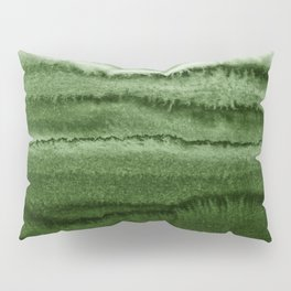 WITHIN THE TIDES FOREST GREEN by Monika Strigel Pillow Sham