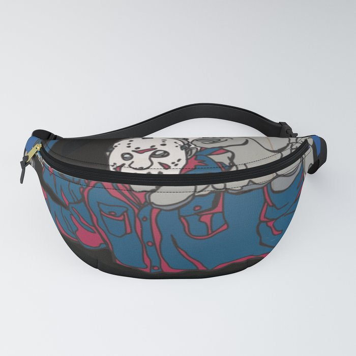 friday the 13th 3-D custom vhs Fanny Pack