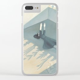 A game of shadows Clear iPhone Case