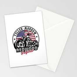 Teller-Morrow Motorcycles Stationery Cards