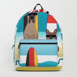 International Surf Competition Dogs Only Backpack
